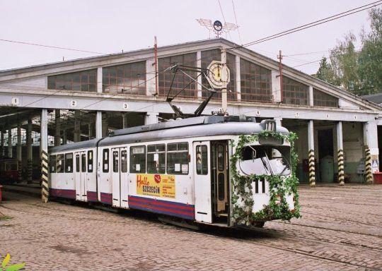Ostatni tramwaj z zajezdni Niemierzyn