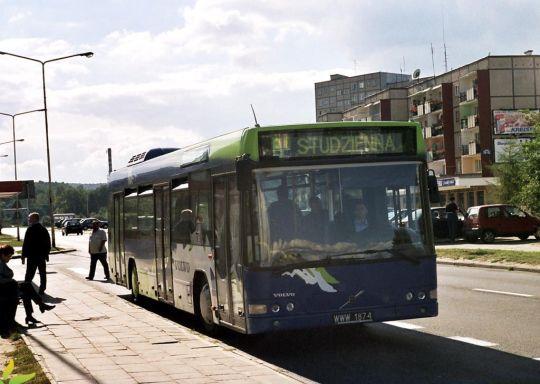 Testowe Volvo na linii A