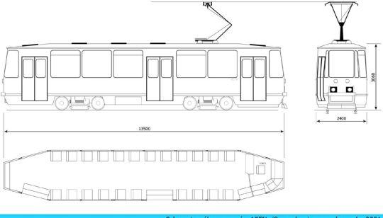 Schemat ogólny wagonu 105Ng/S