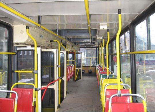 Wnętrze wagonu 105N