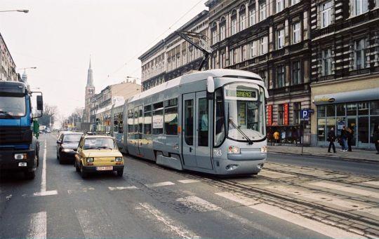 Stara ulica, nowy tramwaj, czyli to tylko testy