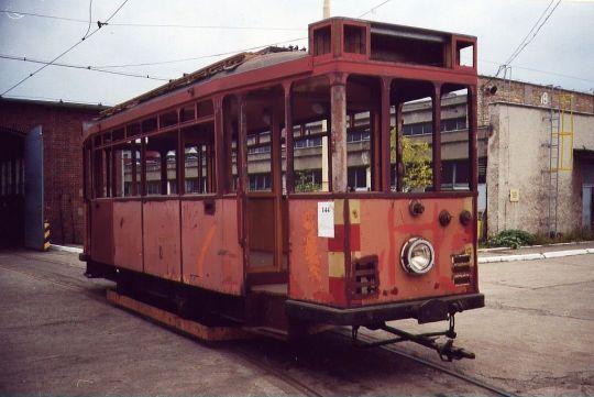 Kilka miesięcy później ten wagon otworzył pierwszy sezon kursowania linii turystycznej 0
