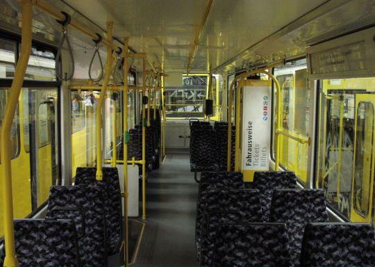 Wnętrze wagonu T6A2D