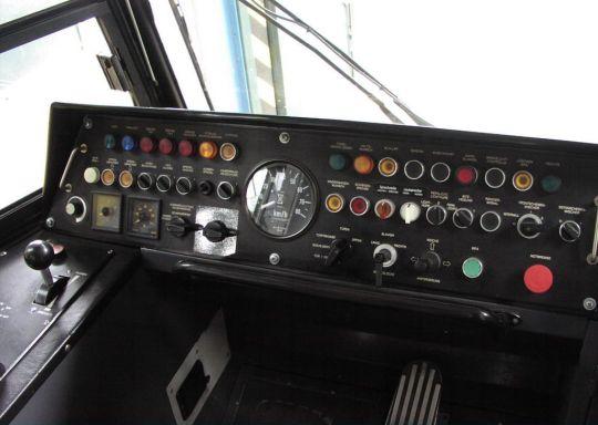 Pulpit tramwaju T6A2D
