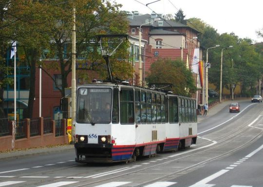 Skład 105N w drodze na Krzekowo