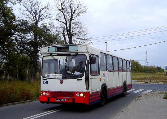 Jelcz L11 na linii 58