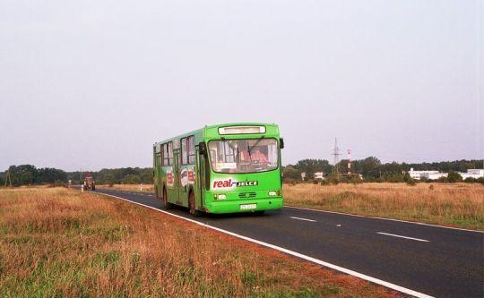 Jeden z ostatnich kursów linii 714 na trasie Real - Osiedle Kasztanowe