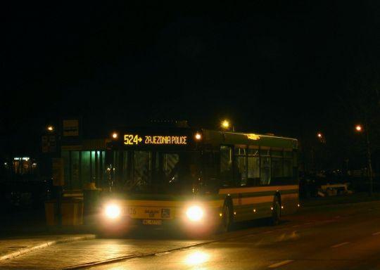Nowa jakość na linii nocnej 524 w Policach