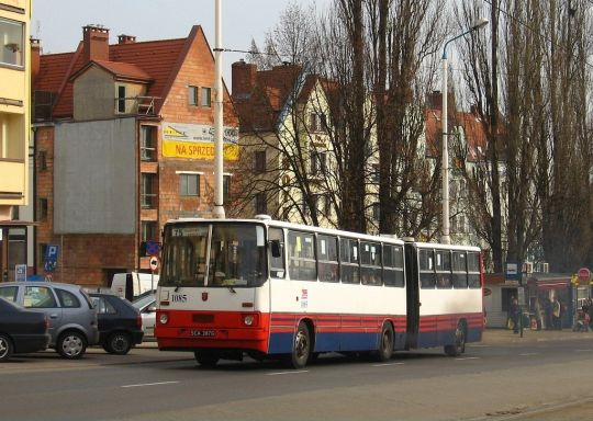 To była jedna z jego ostatnich służb liniowych - 14 marca 2007 Ikarus #1085 został wywieziony ze Szczecina