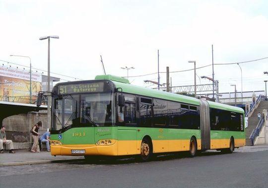 Jedyny Solaris Urbino 18 drugiej generacji tego dnia na linii 51