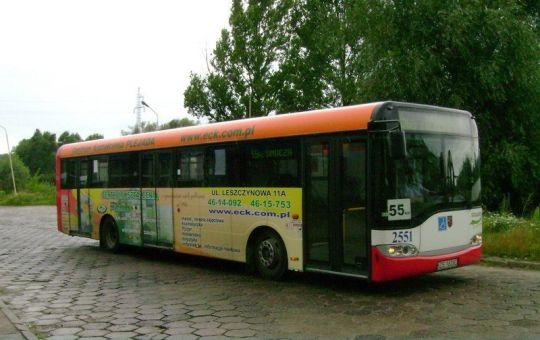 Pierwszy raz w historii na linii 55 Bis zawitał Solaris
