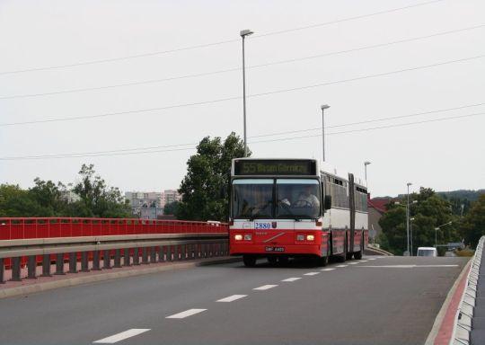 Linia 55 linią kolejnego konfilktu z ZDiTM