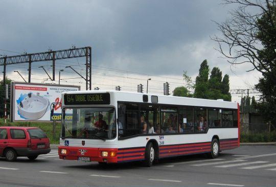 Ten autobus bardzo często można spotkać na tej linii