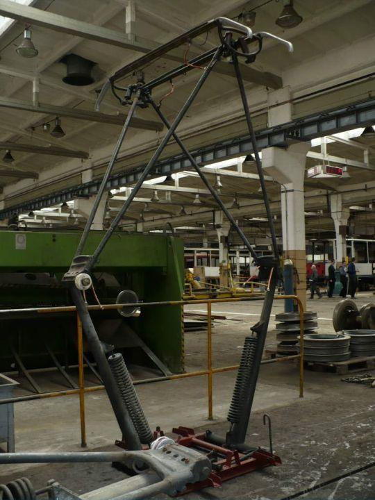 W Wydziale Napraw Taboru można było również zobaczyć wystawę sprzętów związanych z tramwajami