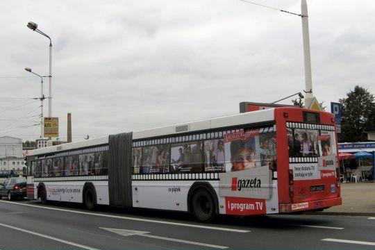 Dąbskie Volvo #2872 w nowej reklamie dodatku telewizyjnego Gazety Wyborczej