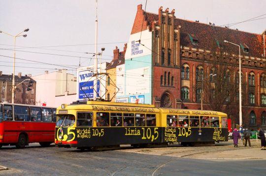 Najszybszy tramwaj w mieście!