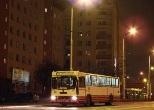 Klonowicki Jelcz jako linia 527