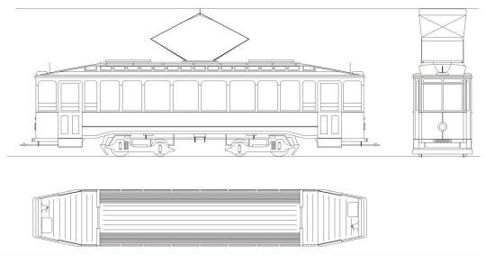 Schemat ogólny wagonów Falkenried Maximum