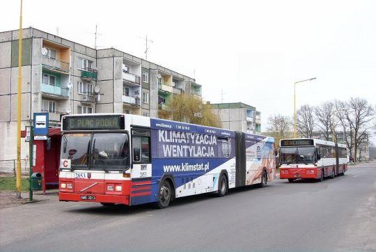 Skomunikowanie linii autobusowych na Osiedlu Kasztanowym
