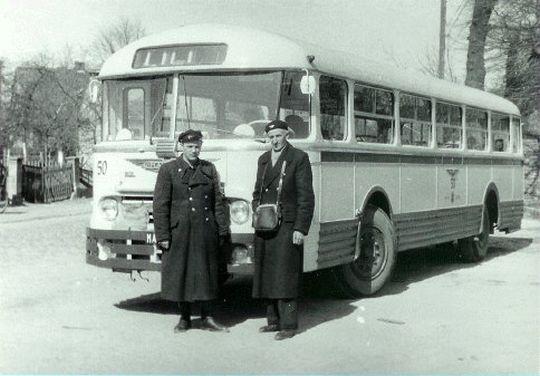 """Jeden z autobusów """"Chausson"""""""