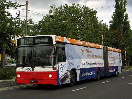 """Klonowickie Volvo z nową reklamą """"ECDL"""""""