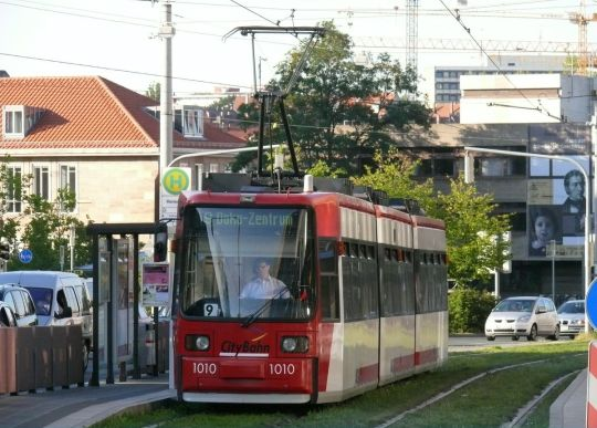 Tramwaj GT6N w Norymberdze
