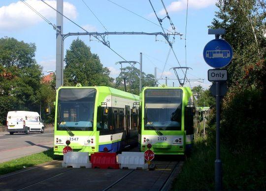 Zalety dwukierunkowych tramwajów widać przede wszystkim podczas remontów torowisk