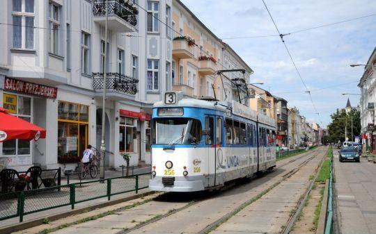 Tutaj mogą poruszać się tylko tramwaje