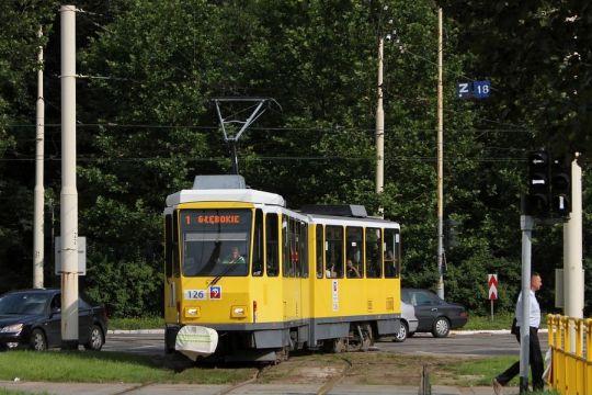 Swój start w grodzie Gryfa zaczął od początkowej linii szczecińskiej komunikacji miejskiej