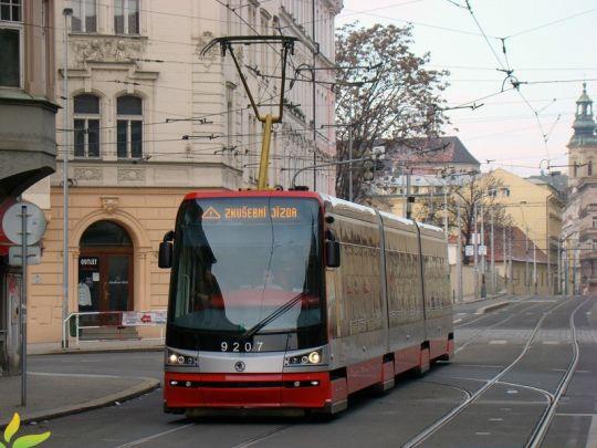 Nowa Škoda na jeździe próbnej w Pradze