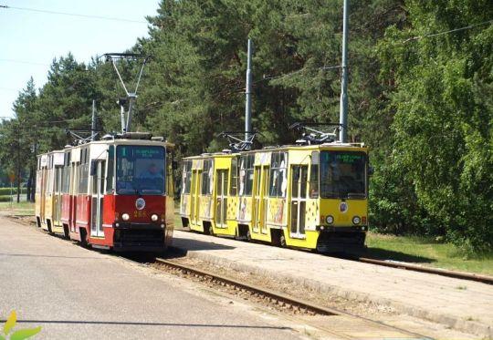 Pętla to także miejsce garażowania toruńskich tramwajów