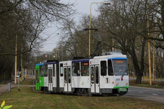 Kolejna Tatra KT4Dt po modernizacji
