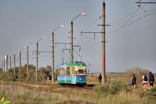 Przedstawiciele najkrótszej sieci tramwajowej na świecie