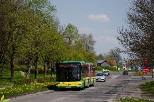 W Wielkanocne południe autobusy w stronę Polic jeździły pełne