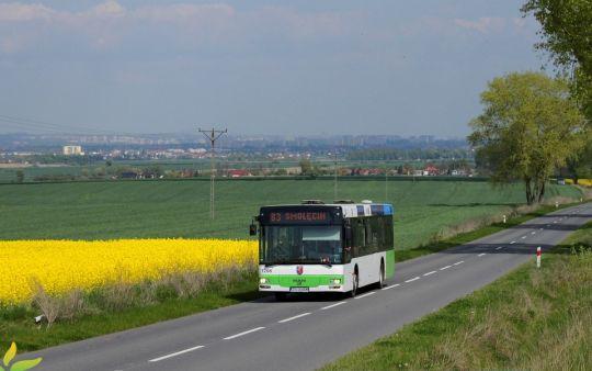 Z wielkiego miasta do niewielkich przygranicznych wsi prowadzi trasa linii 83