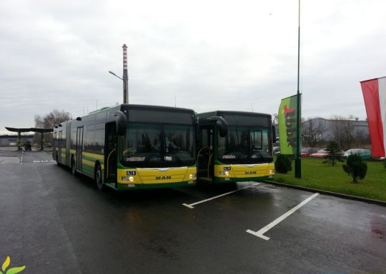Do polickiej zajezdni dotarły dwa nowe autobusy przegubowe
