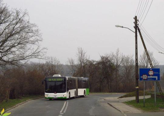 Trasa przez północne tereny miasta pełna jest podjazdów i zjazdów