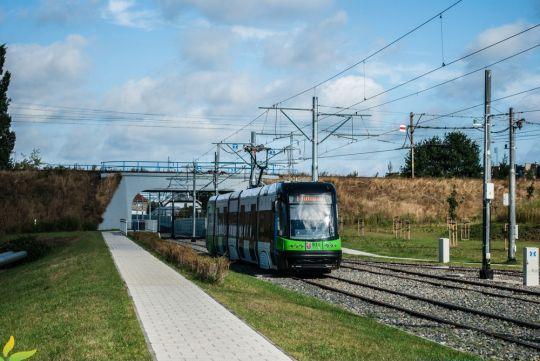 Linia 2 - kiedyś do Dworcowej, później do Basenu Górniczego, obecnie - aż do Turkusowej