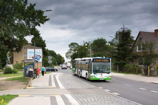 Siedemnastoletni Mercedes wyjechał dzisiaj po raz pierwszy na szczecińskie ulice