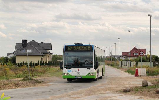 1 września 2016 w zakątkach Mierzyna pojawiła się nowa linia autobusowa 124