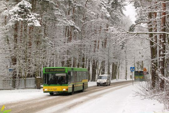 W Nowy Rok oraz Święto Trzech Króli na Linii Samorządowej pojawiły się krótkie autobusy