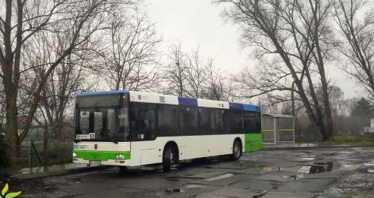 Wraz z nadejściem nowego roku obsługę linii 52 przejął PKS Szczecin