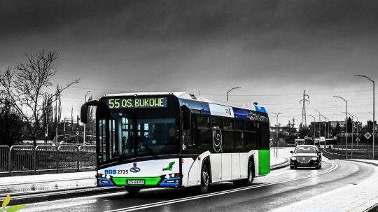 Od 29 stycznia 2018 roku linia 55 jeździ na trasie Osiedle Bukowe - Turkusowa