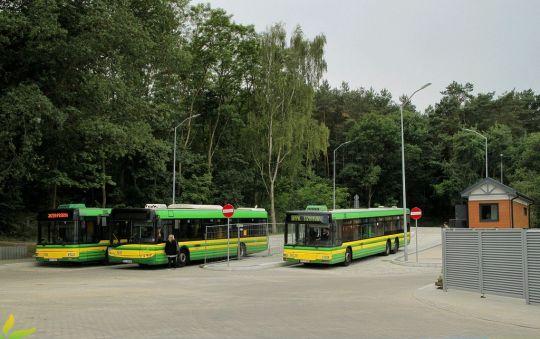 15 czerwca odbyły się testowe przejazdy autobusów przez nową pętlę Police Wyszyńskiego Polana