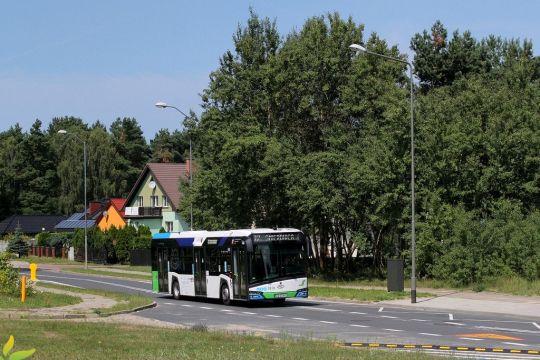 Po zmianach komunikacyjnych na prawobrzeżu Szczecina linia 72 kursuje przez ulice Balińskiego i Piaseczną