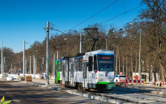 Od wczoraj tramwaje linii 1 i 9 wróciły na swoje trasy do Głębokiego