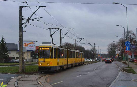 Może kiedyś tramwaje w tym miejscu pojadą jeszcze dalej