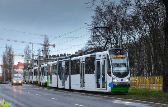I kolejny dzisiejszy tramwajowy korek...