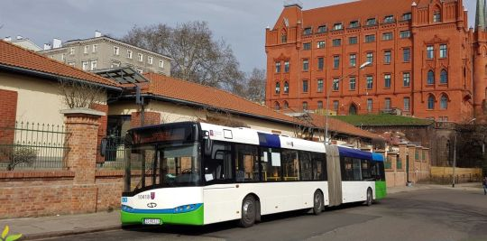 Solaris tuż po skończonej służbie na linii 1