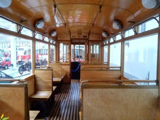 Wnętrze wagonu Bremen #144